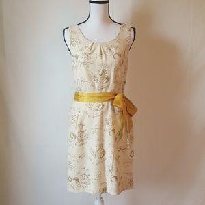 Anthropologie Moulinette Soeurs Window Pane dress